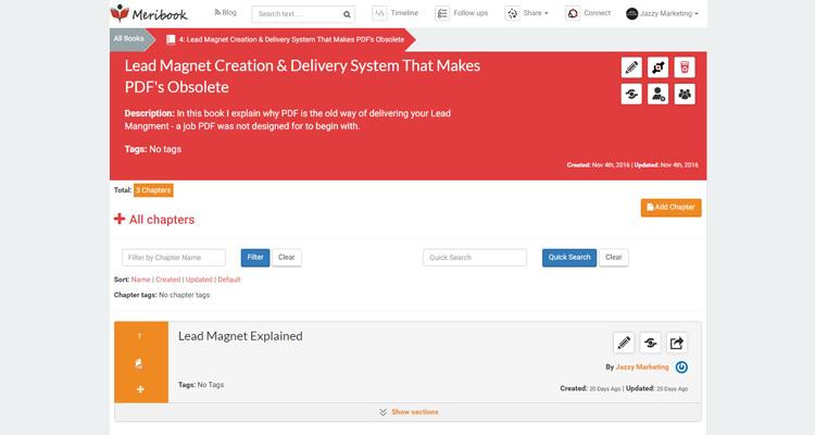 Meribook - Note Taking App Redesign