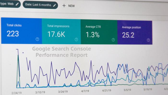 Google Search Console Performance Metrics