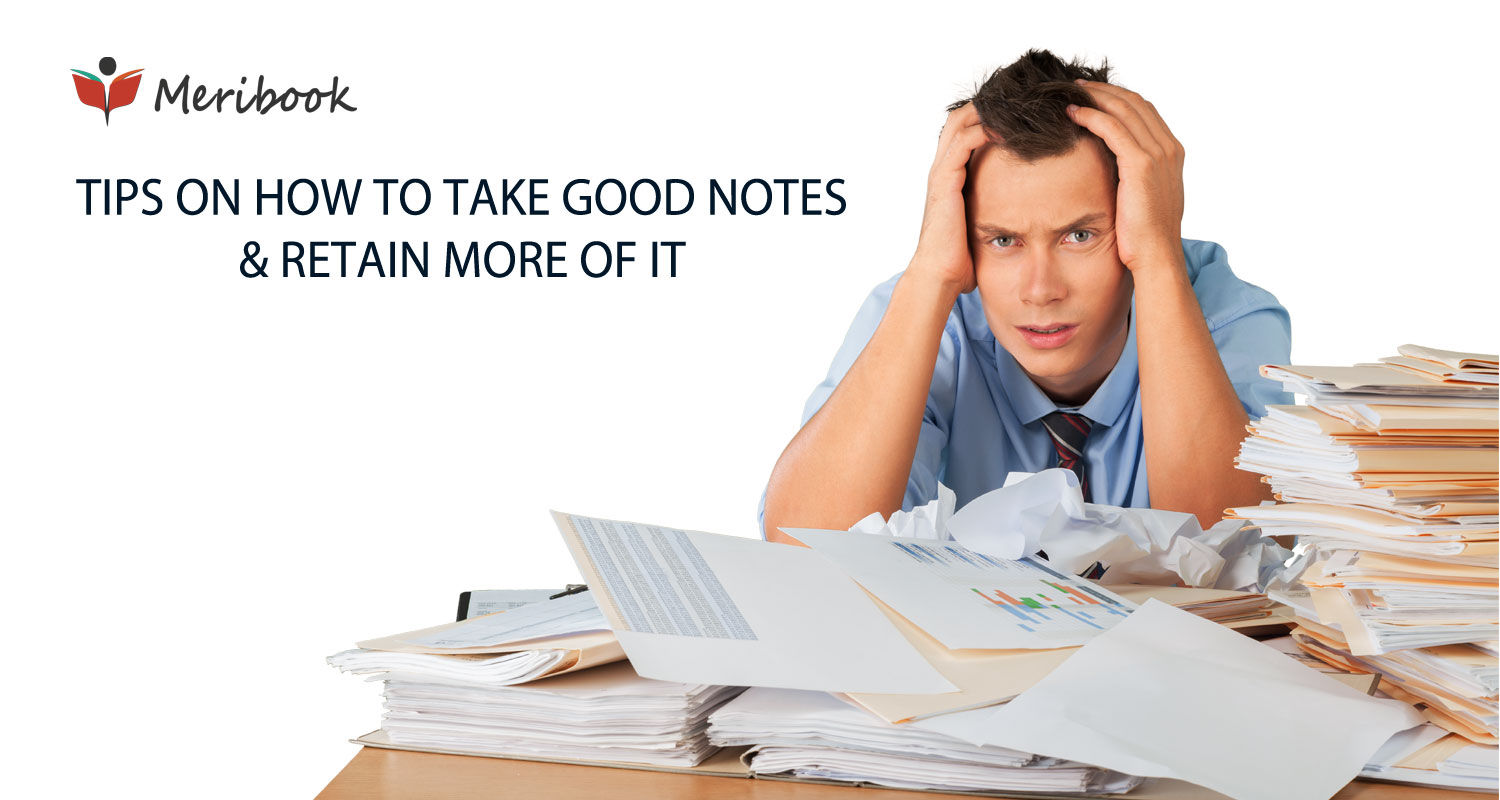 How to take good notes - Meribook